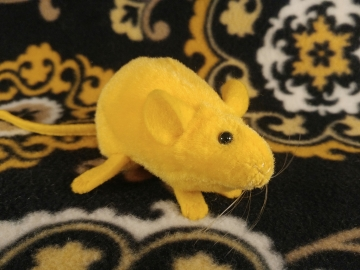 Yellow Mouse Plushie